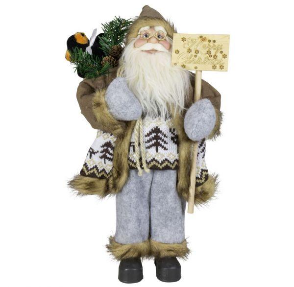 Weihnachtsmann 45cm Rudolf