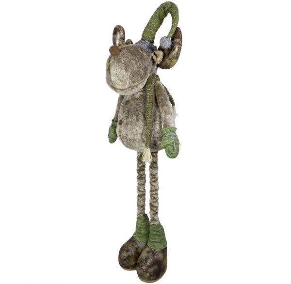 Elch mit ausziehbaren Beinen 80-120cm