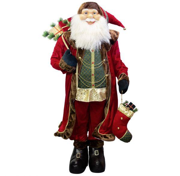 Weihnachtsmann 180cm Yannick - Lebensgröße