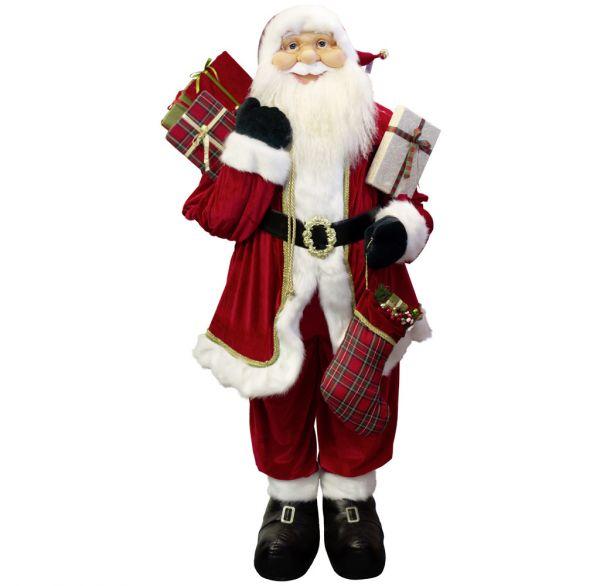 Weihnachtsmann 180cm Leander - Lebensgröße