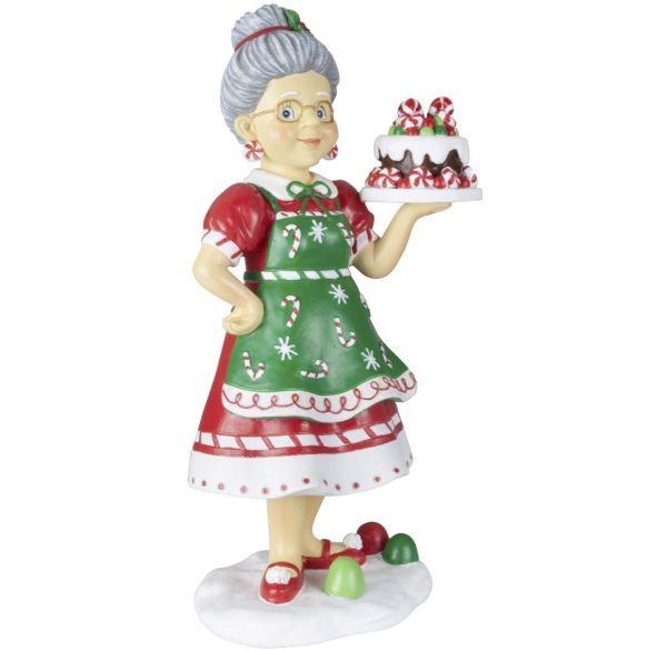 Tischdeko Deko-Figur Bäckerin 27cm