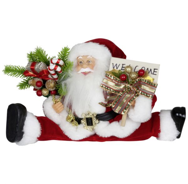 Weihnachtsmann 45cm flexible Beine